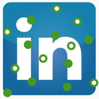 Active Status LinkedIn header