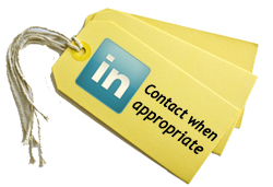 LinkedIn Tagging Options