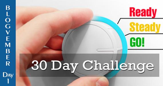 Blogvember - 30 day challenge