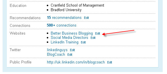 LinkedIn Custom Web Address