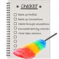 Linkedin Housekeeping Checklist
