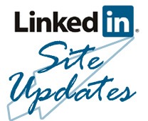LinkedIn Site updates
