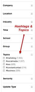 topics-hashtags